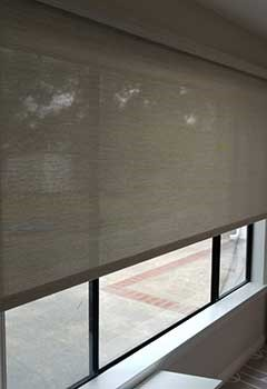 Softly Roller Shades For Yorba Linda Living Room